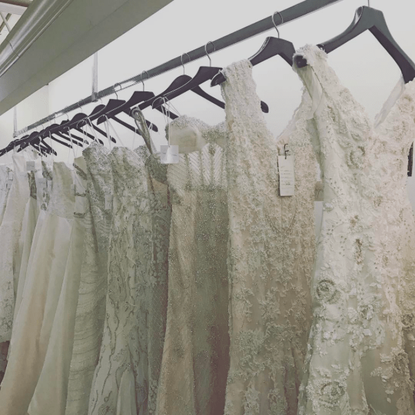 say yes for less wedding sample sale