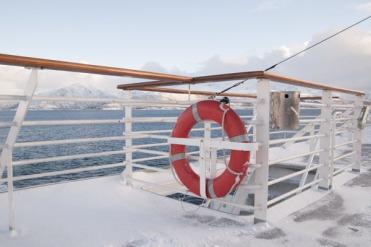 Boating to Lofoten Islands