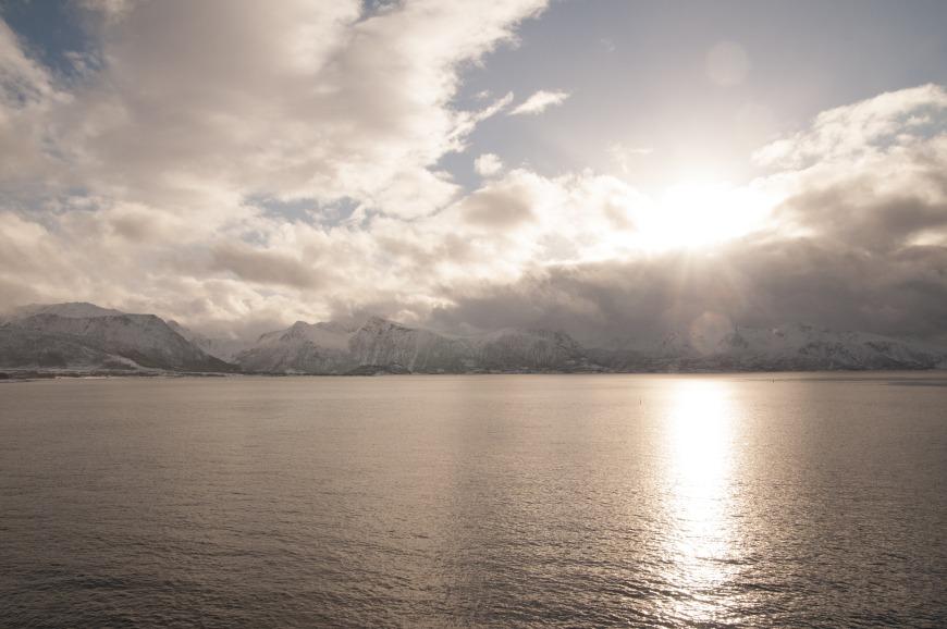 Views from the Hurtigruten