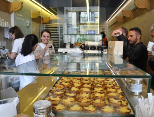 Pasteis de Nata at Manteigaria