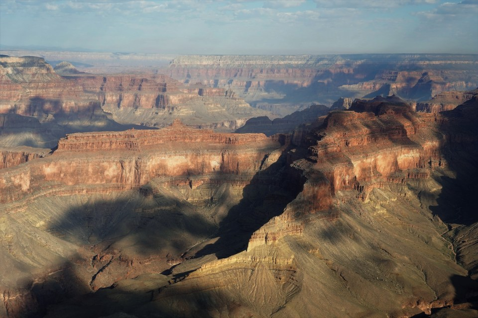 Shadow play in the Grand Canyon