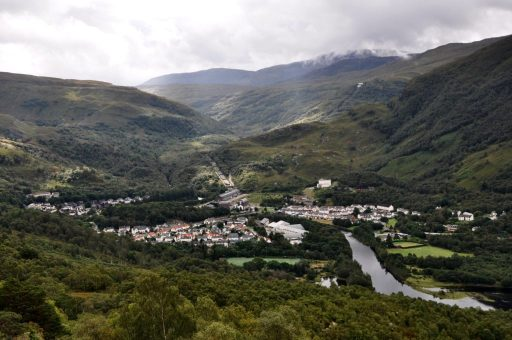 View on Kinlochleven