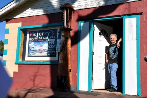 Jerry McClanahan - Route 66 author