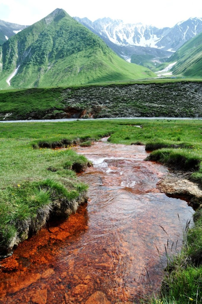 Hiking in Kazbegi - Truso Valley trail