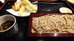 さやの湯処天ぷらせいろ蕎麦セット