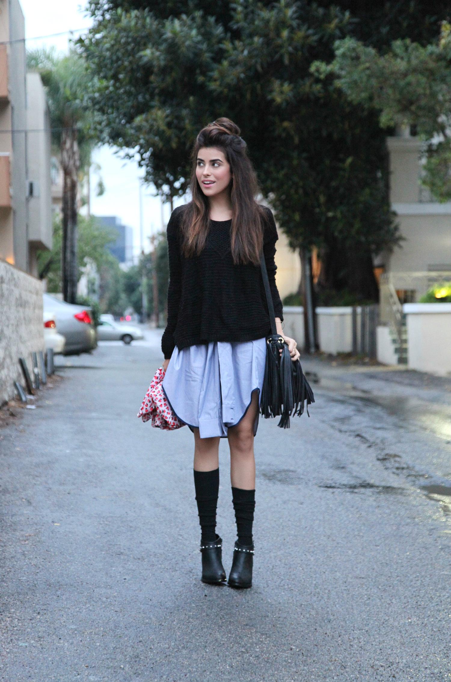 Black Fringe Boots For Women