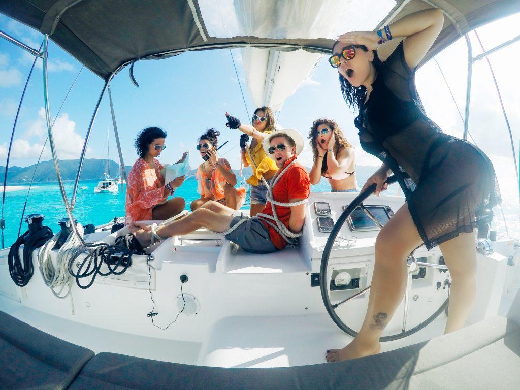 British Virgin Islands With The Yacht Week Sazan