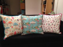 Made from Cath Kidston material and pom-pom edging