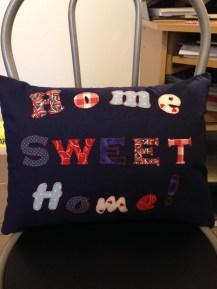 New home cushion