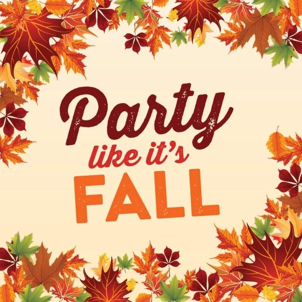 party 's fall - saz's hospitality