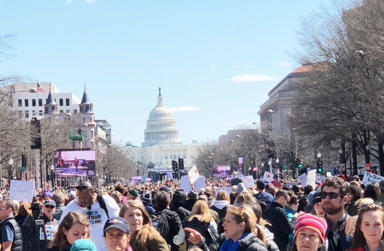 Hundreds of Thousands March to End Gun Violence