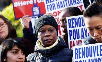Haitians who came to the United States after a 2010 earthquake ravaged the country had their Temporary Protected Status revoked by the Trump Administration. The have until September 2019 to gain legal status, leave voluntarily or be arrested and deported. Courtesy photo