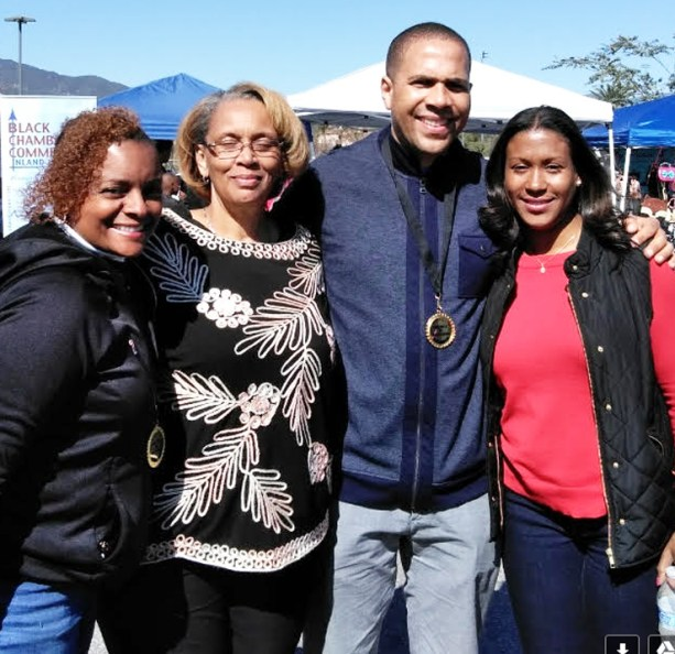 Elaine Jones, Ellen Turner, Mr. and Mrs. Rhan Mayo
