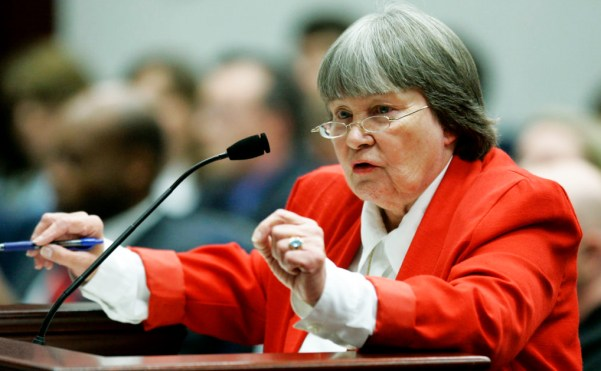 Hammer lobbying a committee of the Florida state house in 2007. (Phil Coale/AP)