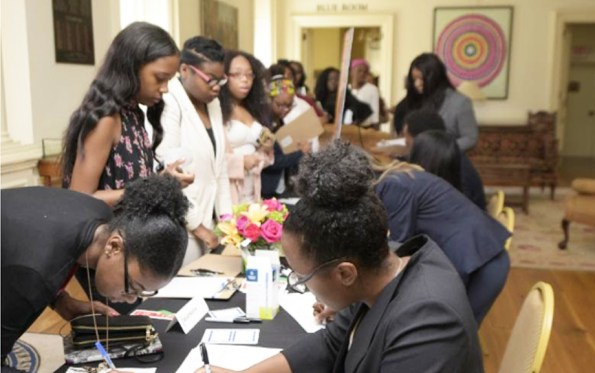Center for Financial Advancement events have drawn high levels of interest from students and young Black professionals. PHOTO: Courtesy