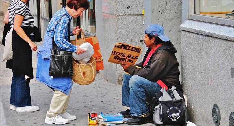 Homeless photo