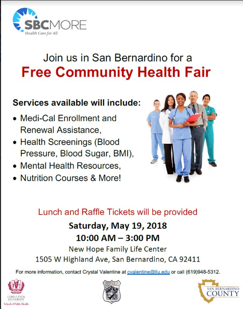 New Life Family Center Health Fair