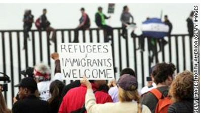 Refugees and Immigrants welcome