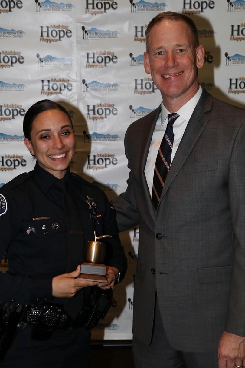 Dale Marsden and Female Officer