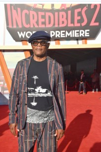 """Samuel L. Jackson attends the World Premiere Of Disney-Pixar's """"Incredibles 2"""" at El Capitan Theatre on June 5, 2018 in Los Angeles, California. (Photo by Alberto E. Rodriguez/Getty Images for Disney)"""