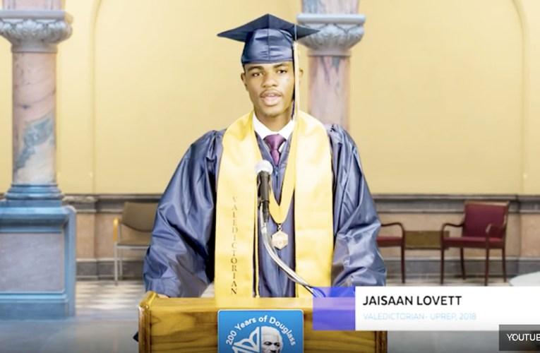 First Black Male Valedictorian Graduate of NY Prep School Silenced