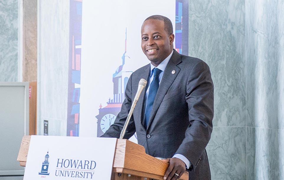 Howard University President photo