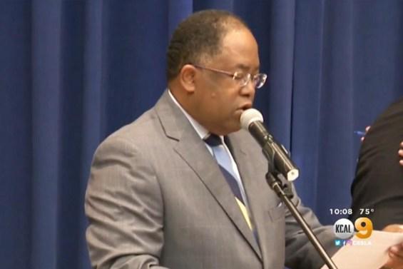 Los Angeles County Supervisor Mark Ridley-Thomas