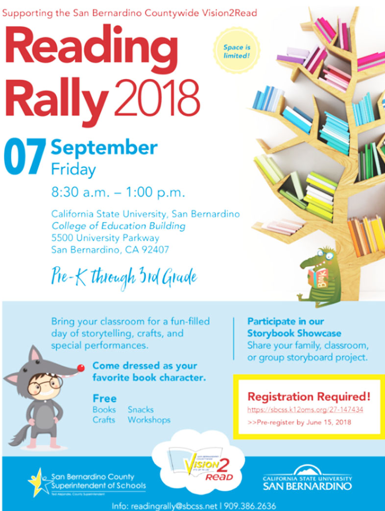 Reading Rally Flyer