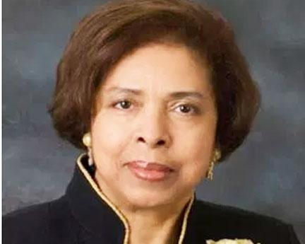 Dr. E. Faye Williams Courtesy Photo