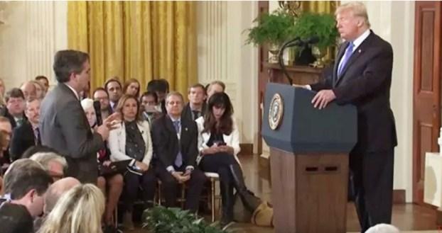 President unhinged attacks photo
