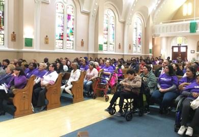 SEIU 2015 At St. Bernardino's Church