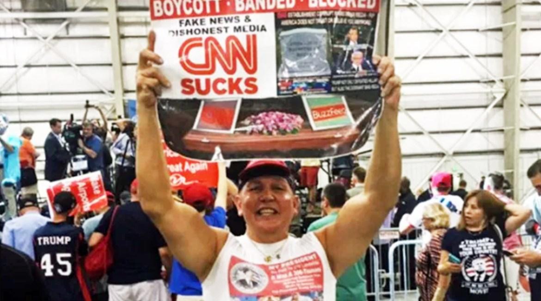 Trump supporter photo
