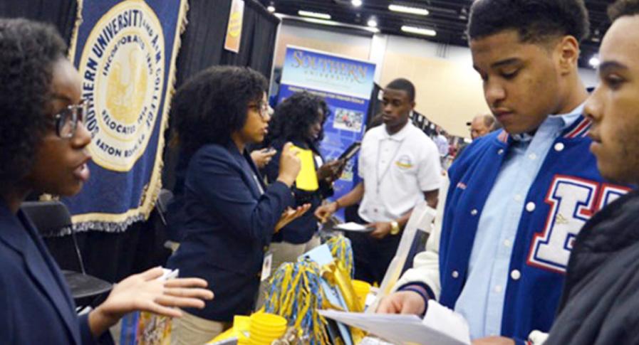 Black students get scholarships