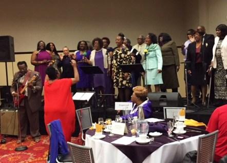 The Emmanuel Temple Church Choir