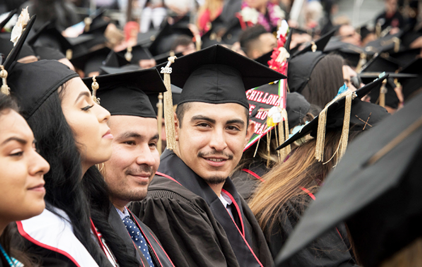 Cal State Northridge commencement photo