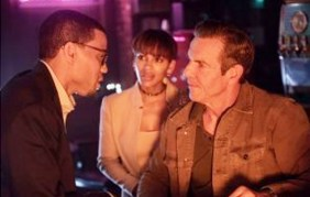 (l to r) Michael Ealy, Meagan Good and Dennis Quaid in Screen Gems' THE INTRUDER.