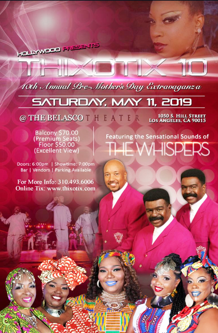 The Whispers event