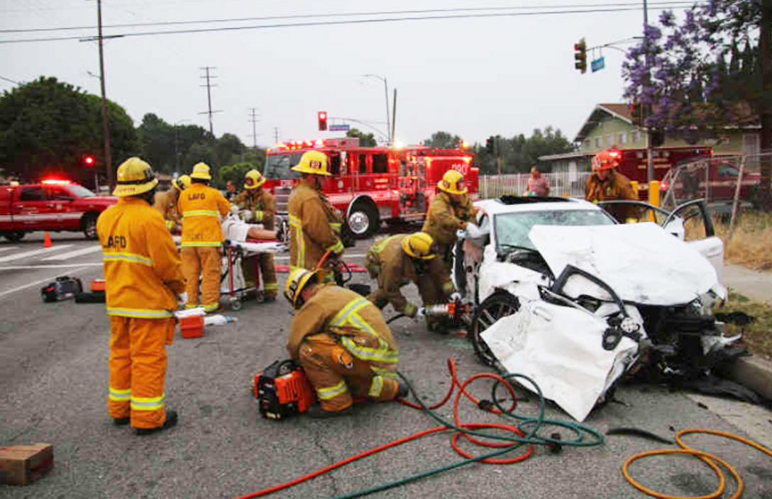 Fatal North Hills crash photo