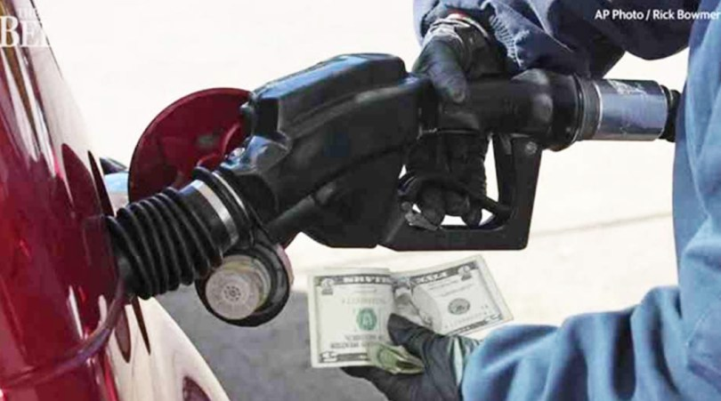Gas prices dropped photo