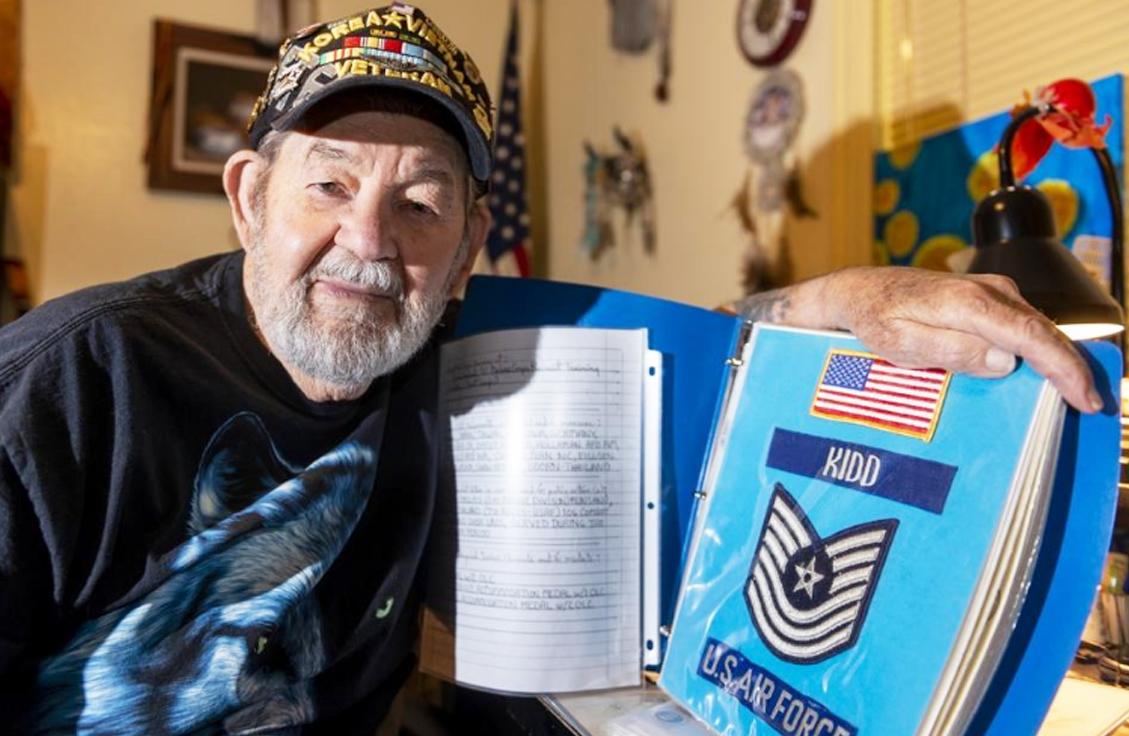 Veteran Hugh Kidd