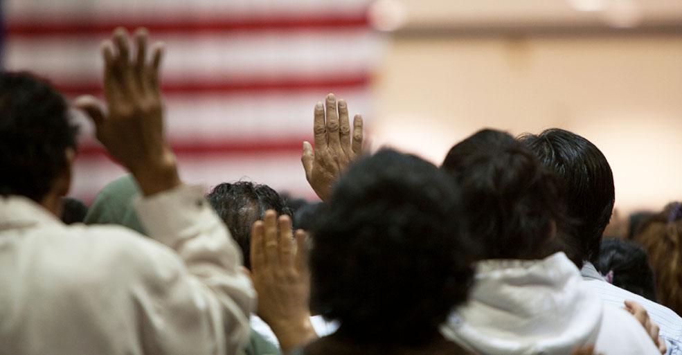 focus of Census citizenship question photo