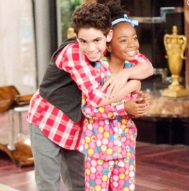 "Cameron played character of Luke Ross on Disney's tv show ""Jessie."" with his ""Jessie"" co-star Skai Jackson."