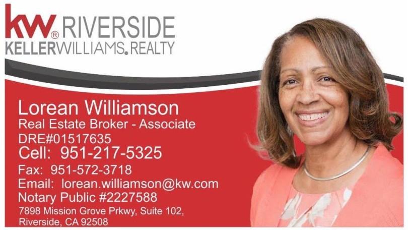 Lorean Williamson KW Riverside