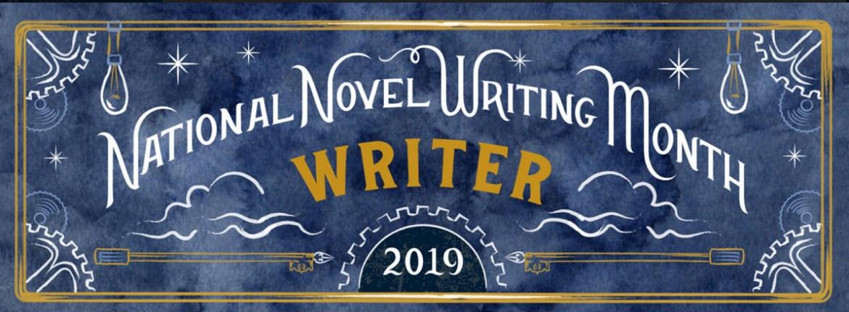 National Novel Writing Month flyer
