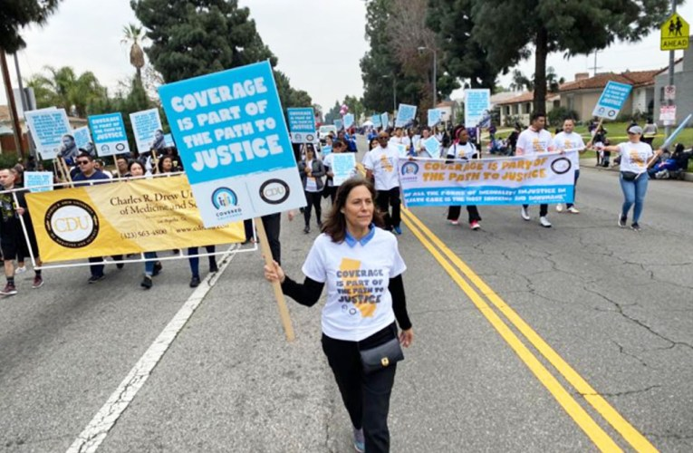 Covered California and Community Partners honor Martin Luther King Jr. at the 35th Annual Kingdom Day Parade