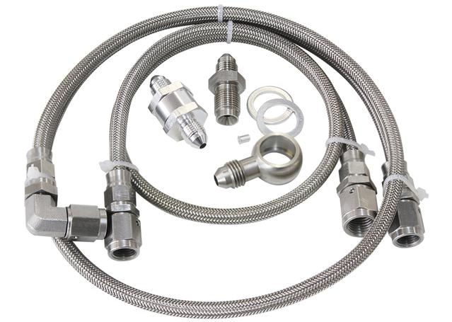 Aeroflow AF30-1000 Turbo Feed Oil Line Kit 30 Micron