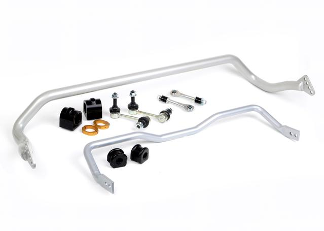 Whiteline BFK002 Sway Bar Kit Front & Rear 33mm 22mm fits