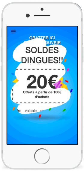 exemple SMS soldes