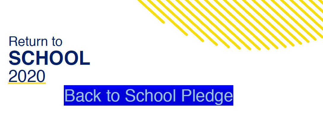 Back to School Pledge