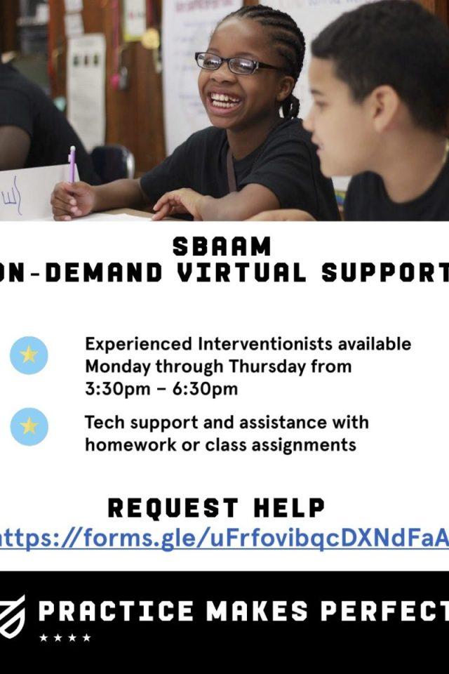 SBAAM On-Demand Virtual Support eng